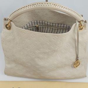 Louis Vuitton Enpreinte Artsy Leather Bag